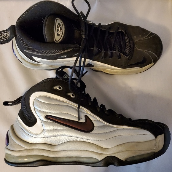 Nike Air Total Max Uptempo 366724 001 Silver Black